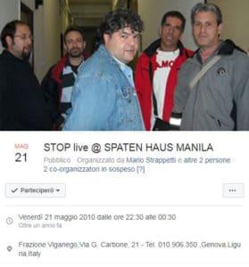 stop live 21 maggio 2010