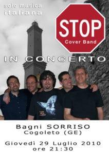 stop live 29 luglio 2010
