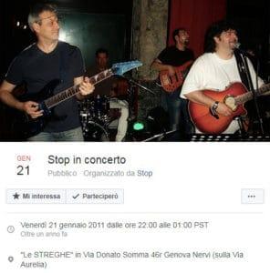 stop live 21 gennaio 2011