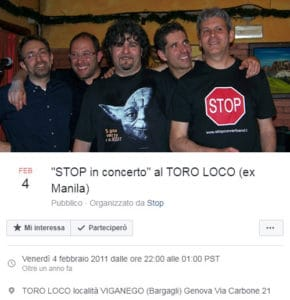 stop live 4 febbraio 2011