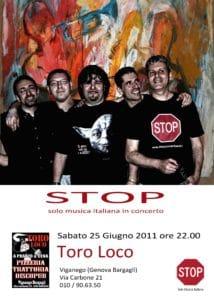 stop live 25 giugno 2011