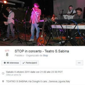 stop live 8 ottobre 2011