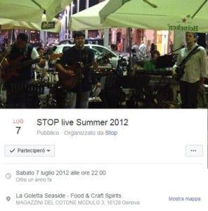 stop live 7 luglio 2012