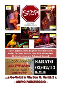 stop live 2 febbraio 2013