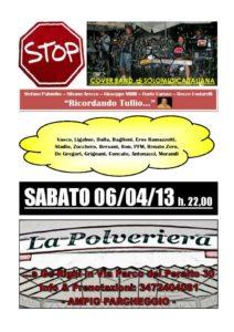 stop live 6 aprile 2013