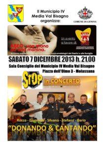 stop live 7 dicembre 2013