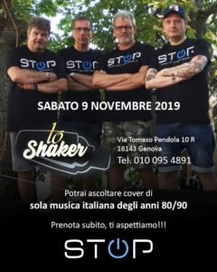 stop live 9 novembre 2019